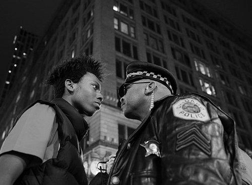 צעדה נגד אלימות משטרתית | צילום: John J. Kim