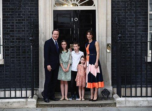 סמנתה קמרון ומשפחה   צילום: GettyImages