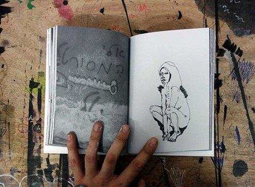 דימוי מתוך ספר אמן של KLONE