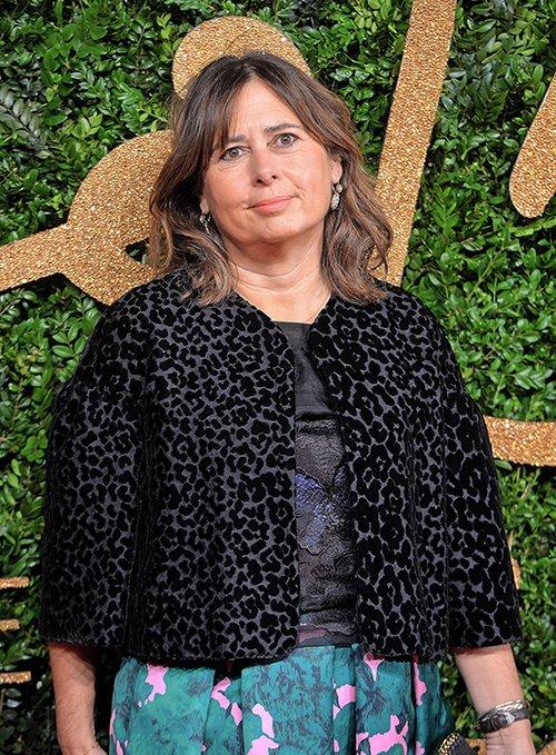 אלכסנדרה שולמן בטקס פרסי האפנה הבריטית   צילום: GettyImages