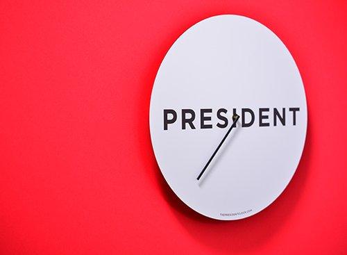 הספירה לאחור עד שטראמפ יחזור לאזרחות | The President Clock