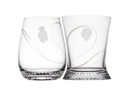 סט גביעי קריסטל לחוויית שתייה זוגית | צילום: LOBMEYR M.Rathmayer