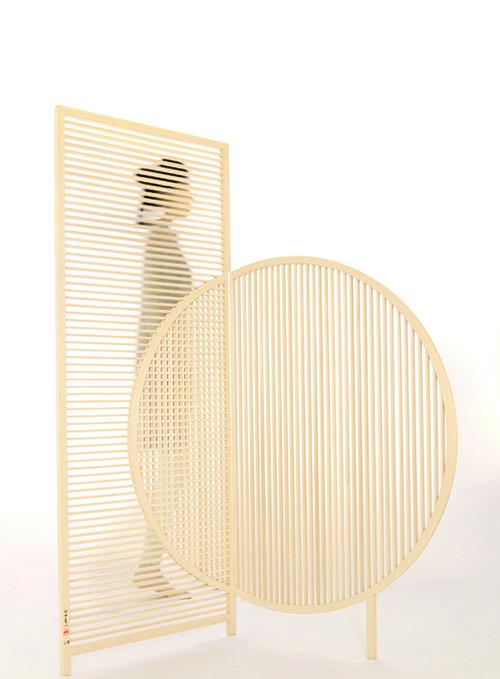 מחיצות עץ בהשראה יפנית | צילום: BCXSY