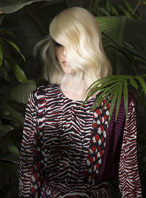 שמלה רוברטו קוואלי ל-Fashion List Show | צילום: תום מרשק