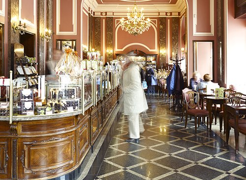 E. Wedel. רשת שוקולדים קסומה   צילום: המכון הפולני בתל אביב Warsaw Tourist Office