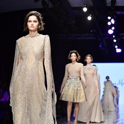 מתוך התצוגה של גדי אלימלך בשבוע האופנה גינדי תל אביב 2017   צילום: שי פרנקו