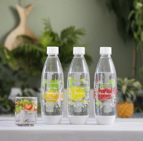 בקבוקים רב פעמיים של סודהסטרים | צילום: כפיר זיו