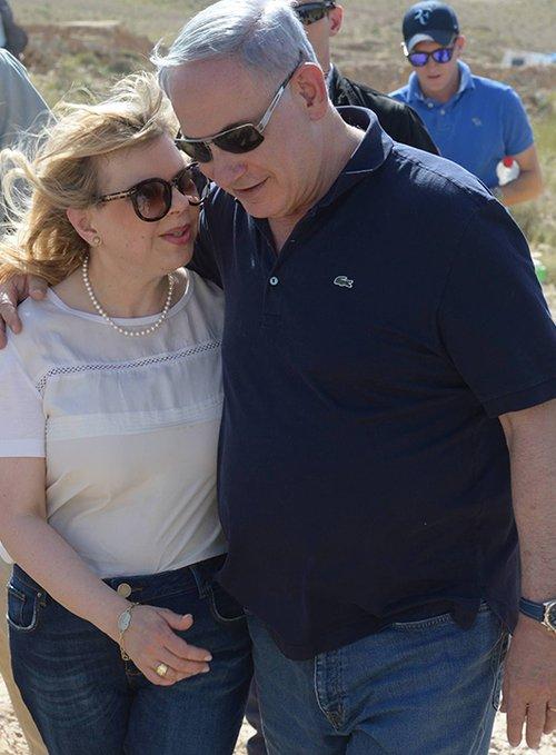 ראש הממשלה ורעייתו שרה | צילום: GettyImages