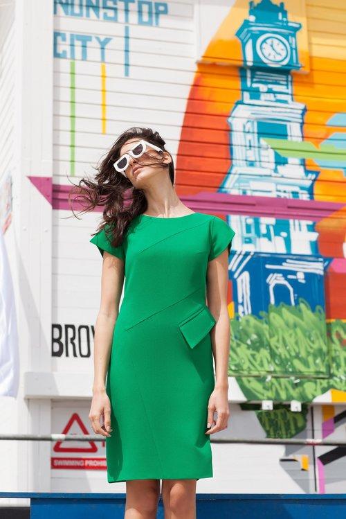 """שמלה של אליאן סטולרו, 3,200 ש""""ח   צילום: מרינה מוסקוביץ כריס"""