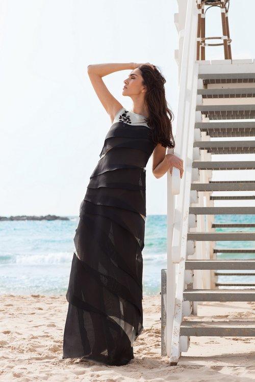 """שמלה של אליאן סטולרו, 8,250 ש""""ח   צילום: מרינה מוסקוביץ כריס"""