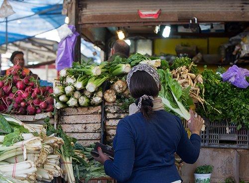 השוק העירוני | צילום: באדיבות דוברות והסברה עיריית נתניה