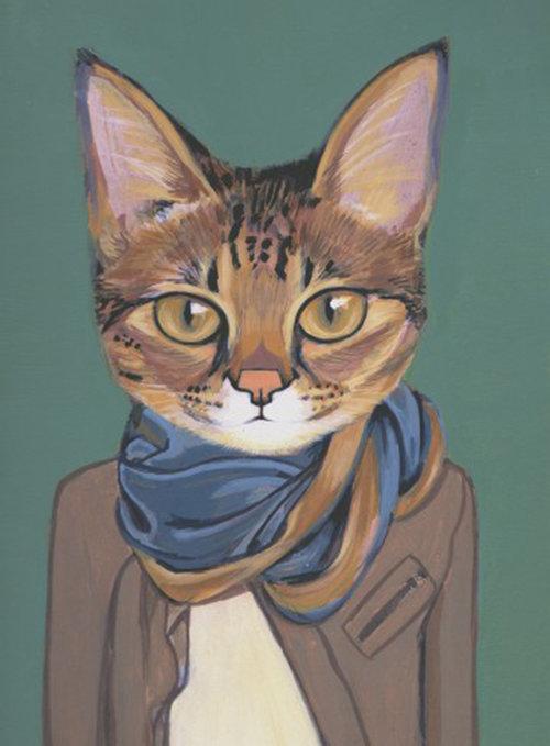 חתולים בבגדים | הת'ר מתון