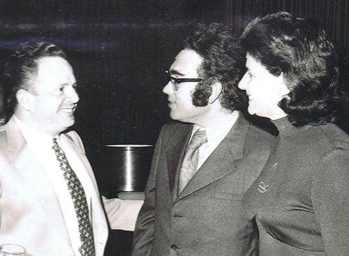 רות ורפי סירקיס עם יוסף לפיד