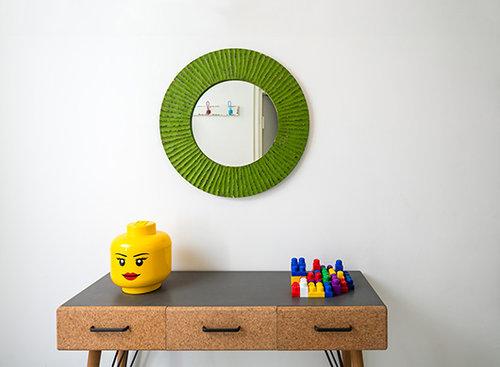 בית צבעוני בראש העין | עיצוב פנים והום סטיילינג: סטפני גריב | צילום: עוזי פורת