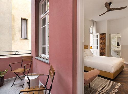 מלון נורדוי: חדרי וינטג' שמשמרים אווירה