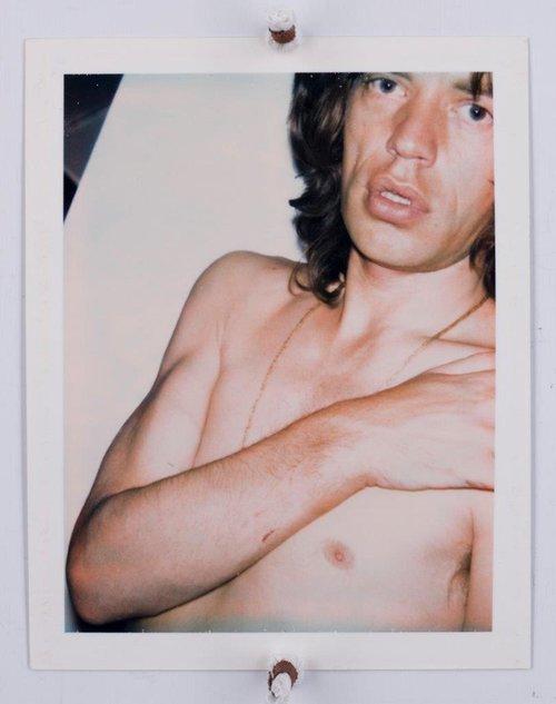 מיק ג'אגר   תצלום באדיבות The Andy Warhol Foundation for the Visual Arts