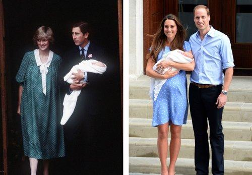 כותנת עם נקודות: מי עשתה את זה יותר טוב – הנסיכה דיאנה או קייט מידלטון? | צילום: GettyImages
