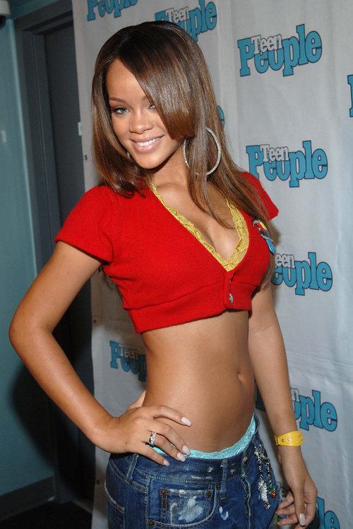 יפה ככה: ריהאנה ב-2005 | צילום: Gettyimages