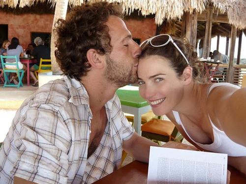 בשבילם כל יום הוא יום האהבה: יעל גולדמן ואורי פפר | צילום: אינסטגרם @yaelgoldmanpfeffer
