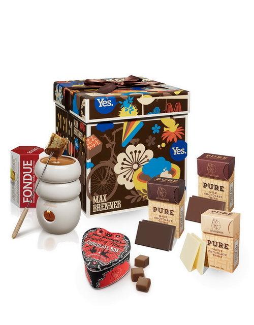 מארז שוקולד זוגי של מקס ברנר | צילום: אלירן ניסן