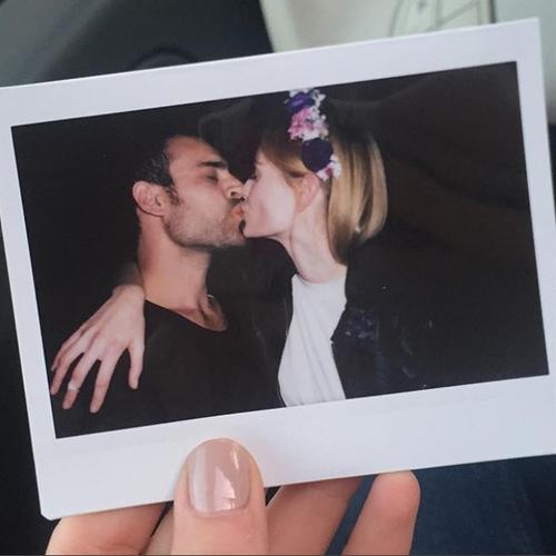 תמיד רומנטיים: שביט ויזל ובן הזוג אוהד בן נון | צילום: אינסטגרם @shavitwiesel