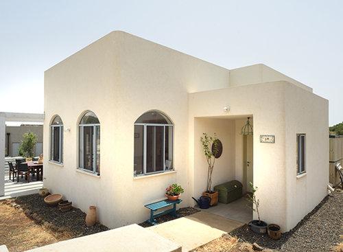 בית צמוד קרקע שנבנה בליווי מיכל גלר | צילום: משה כהן