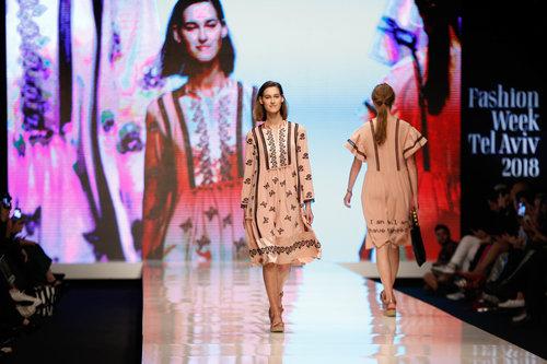 התצוגה של טובה'לה בשבוע האופנה תל אביב 2018 | צילום: אדריאן סבל