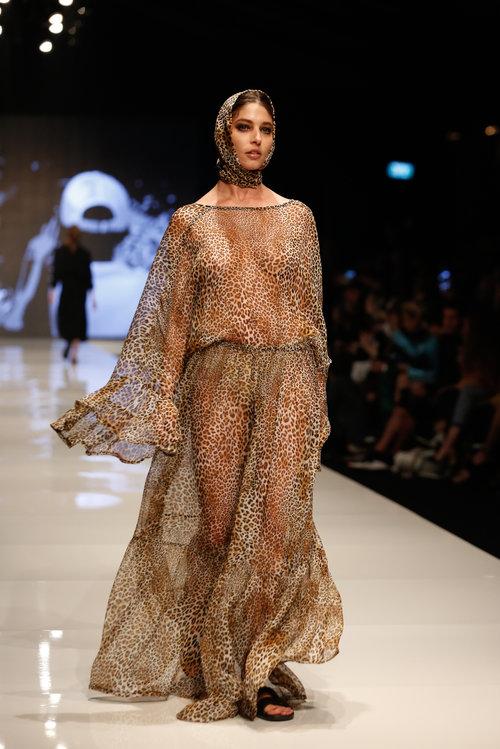 התצוגה של עידן לרוס בשבוע האופנה תל אביב 2018 | צילום: אדריאן סבל