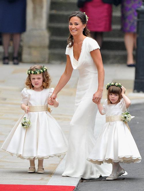 וככה היא נראתה אז, בחתונה המלכותית של קייט מידלטון והנסיך וויליאם | צילום: Gettyimages