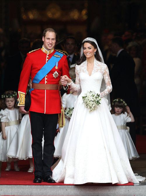 וכך זה נראה ב-2011: החתונה המלכותית של הנסיך וויליאם וקייט מידלטון | צילום: Gettyimages
