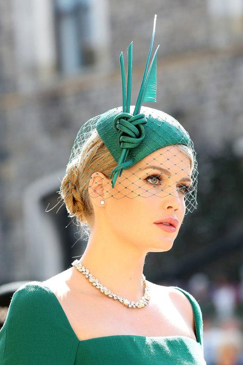 מדהימה: קיטי ספנסר, האחיינית של הנסיכה דיאנה, בחתונה המלכותית | צילום: Gettyimages