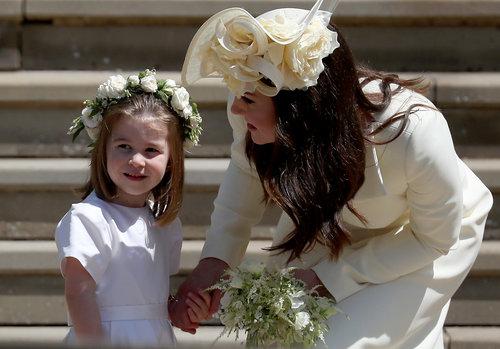 הנסיכה שרלוט בחתונה המלכותית של הנסיך הארי ומייגן מרקל | צילום: Gettyimages