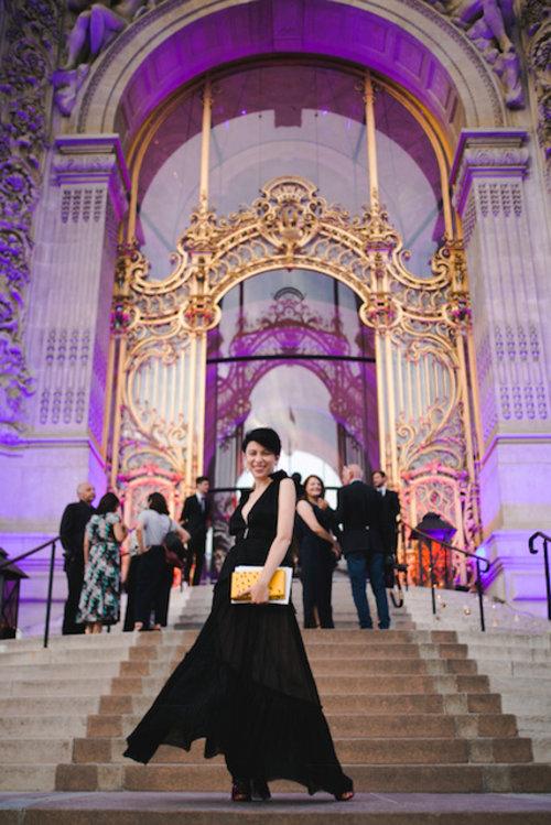 בלוגרית האופנה רוזה סינייסקי בשבוע אופנת הקוטור בפריז | צילום: ליאה גלדמן