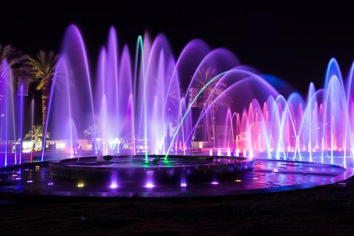 המזרקה המוזיקלית בפארק אילת | צילום: Shutterstock