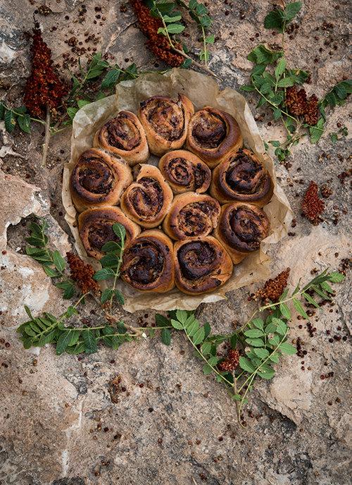 שושני בצל וסומאק של נוף עתאמנה אסמעיל | צילום: בן יוסטר