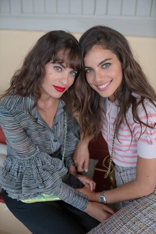 שותפות למסע רוחני, שלומית מלכה ודר זוזובסקי   צילום: Nico Copin for Chanel