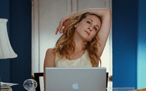 """קארי בראדשו, החלום הרטוב של כל העצמאיות   צילום מסך מתוך """"סקס והעיר הגדולה"""""""