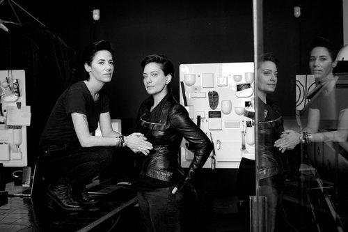 המעצבות הישראליות איריס אדלר וטלי מילכברג,מ-NUNUNU | צילום: רון קדמי