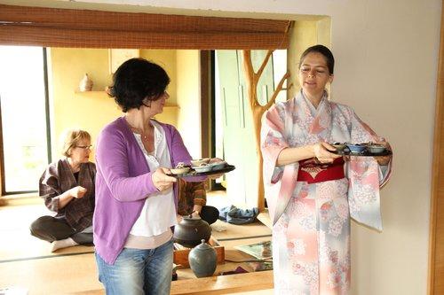 """""""יפה במיוחד אחרי יום גשום"""",חויה יפנית עין הוד   צילום: יח""""צ"""