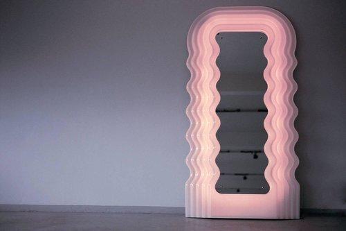 מראת Ultrafragola של המעצב האיטלקי אטורה סוטאס | צילום מסך מהאתר kissthedesign.ch