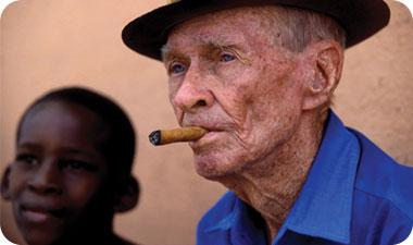 הסיגר הקובני הידוע בכל העולם, נחשב למרכיב חשוב בתרבות המקומית